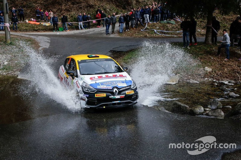 Luca Panzani, Renault Clio R3T, Gima Autosport