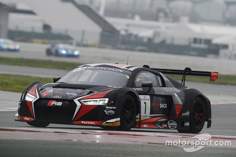 #1 Belgian Audi Club Team WRT Audi R8 LMS: Frederic Vervisch, Laurens Vanthoor