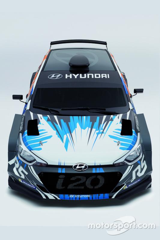 La livrée de la Hyundai i20 R5 à Ypres