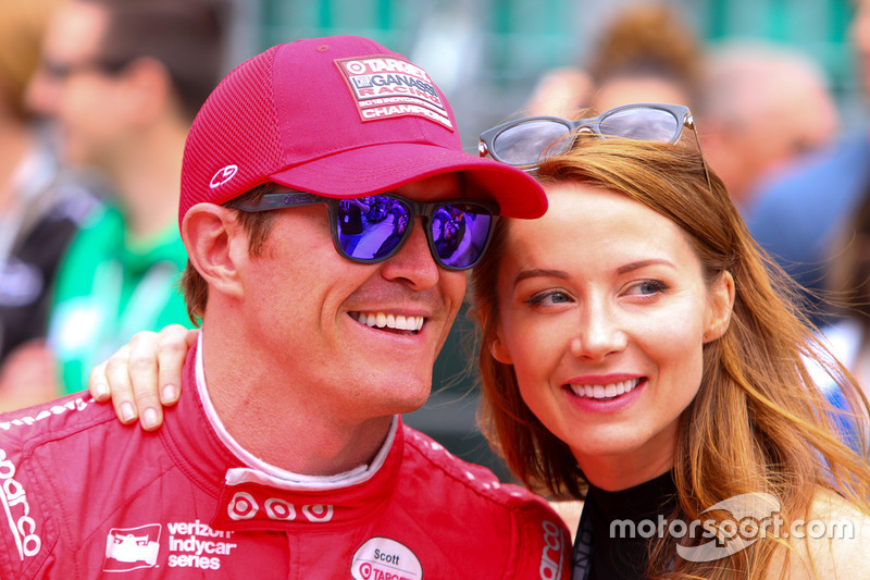 Scott Dixon mit Ehefrau Emma