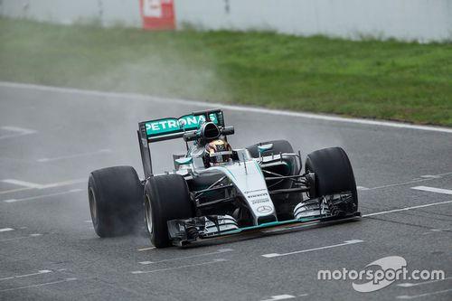 Pirelli teszt, október, Mercedes