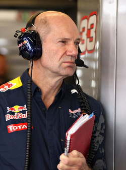 Adrian Newey, jefe técnico de Red Bull Racing
