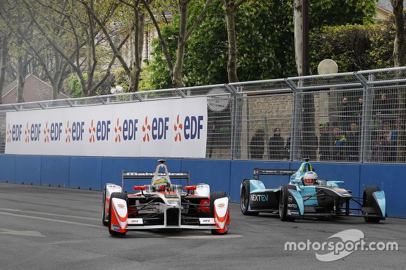 Bruno Senna, Mahindra Racing and Nelson Piquet Jr., NEXTEV TCR Formula E Team