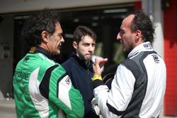 Stefano Zanini e e il suo coach driver Robert Kubica