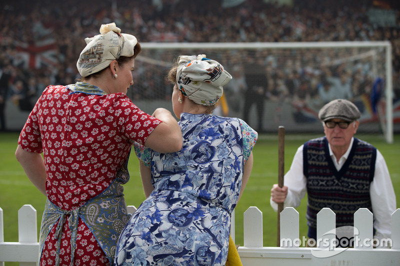 Revival Ladies enjoying the Football