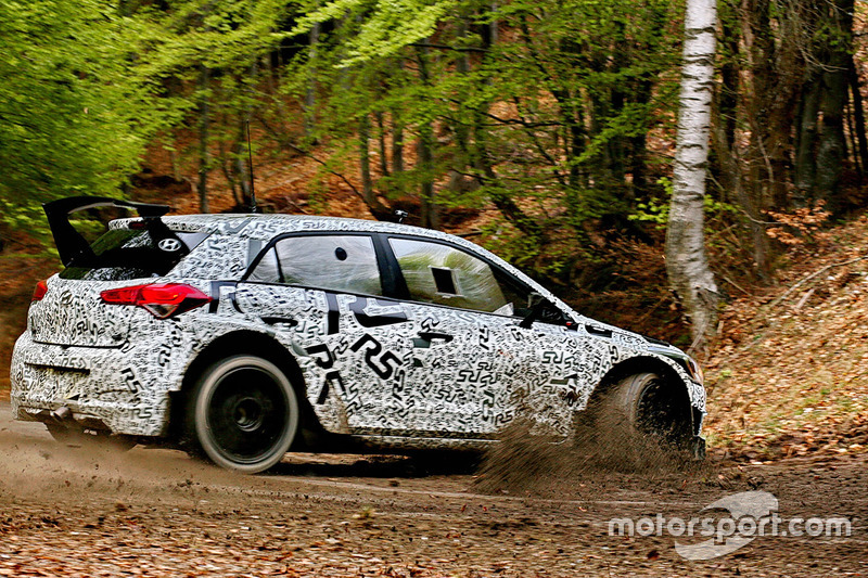 Teste do Hyundai i20 R5 WRC