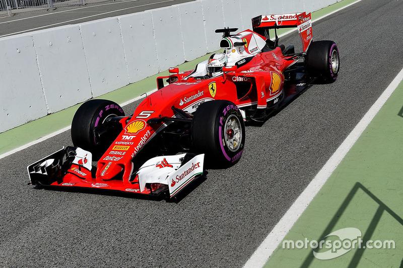 Bestzeit am 1. Tag: Sebastian Vettel, Ferrari SF16-H