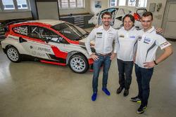 Тимур Тимерзянов, Макс Пухер и Янис Бауманис, World RX Team Austria