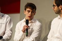 Nigel Land, Alex Mortimer and Ryan Harper-Ellam meet Henry Hope-Frost on the Autosport Stage