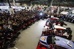 La temporada 2018 de WRC es presentada en el Autosport International Show. Con autos Hyundai, Citroen y el M-Sport Ford.