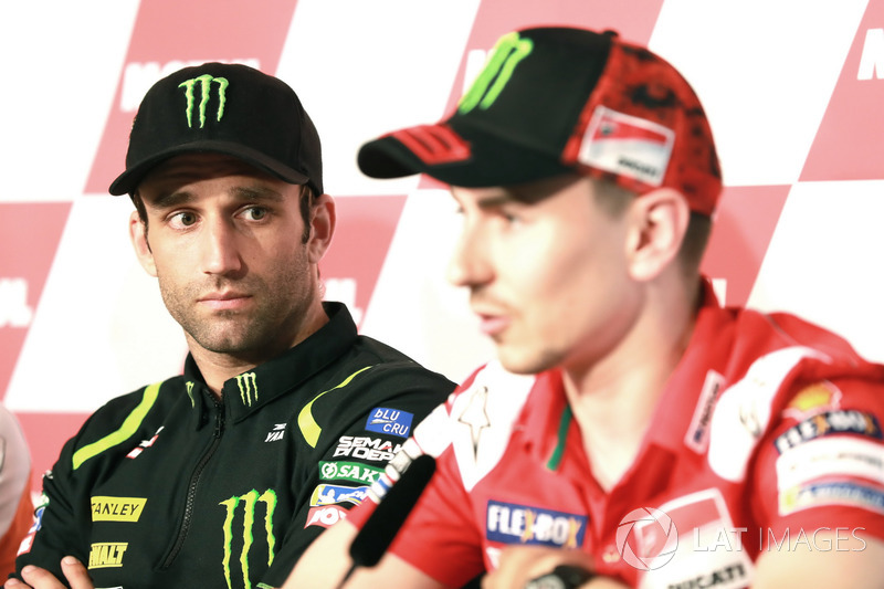 Conferencia de prensa, Johann Zarco, Monster Yamaha Tech 3, Jorge Lorenzo, Ducati Team