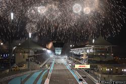 Race winner Valtteri Bottas, Mercedes-Benz F1 W08, second place Lewis Hamilton, Mercedes-Benz F1 W08, Felipe Massa, Williams FW40