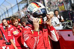 Sebastian Vettel, Ferrari sur la grille