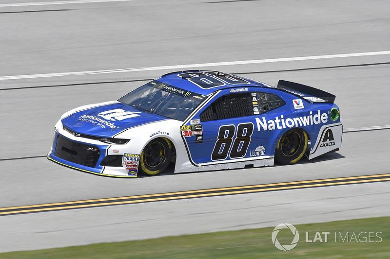 11. Alex Bowman, Hendrick Motorsports, Chevrolet Camaro Nationwide