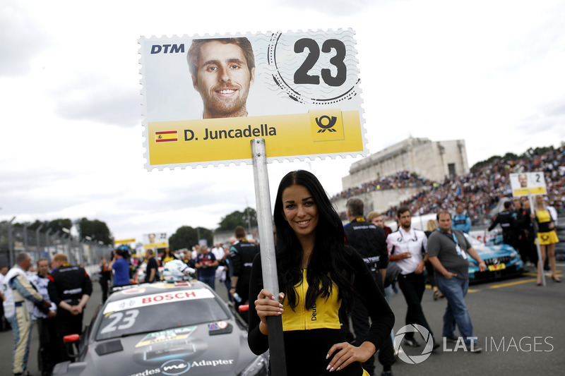 Grid kızı, Daniel Juncadella, Mercedes-AMG Team HWA