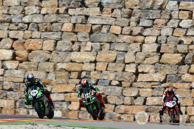 Toprak Razgatlioglu, Kawasaki Puccetti Racing, Tom Sykes, Kawasaki Racing