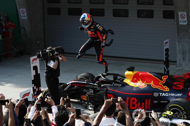Juara GP Tiongkok Daniel Ricciardo, Red Bull Racing