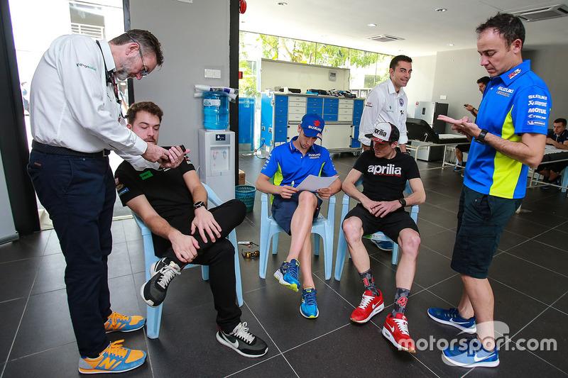 Marc Marquez, Repsol Honda Team, Dr Angel Charte, MotoGP Medical Director