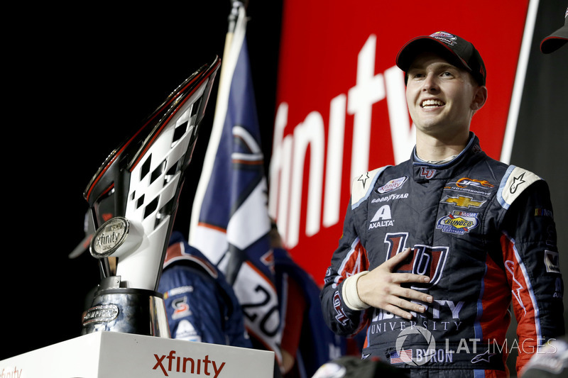 NASCAR Xfinity: Вільям Байрон (США)