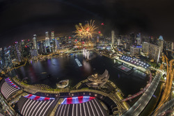 Spectacular fireworks display that will light up the Marina Bay skyline