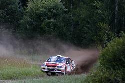 Rainer Aus e Simo Koskinen, Mitsubishi Lancer EVO X