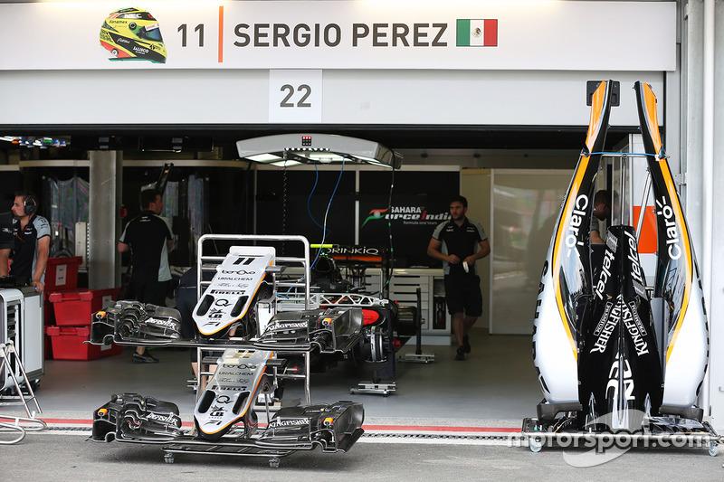 Sahara Force India F1 VJM09 de Sergio Pérez