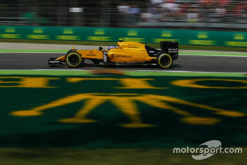 20: Джоліон Палмер, Renault Sport F1 Team RS16