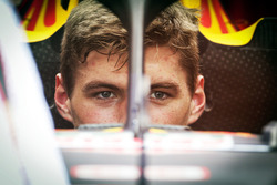Halo-Cockpitschutz am Auto von Max Verstappen, Red Bull Racing RB12