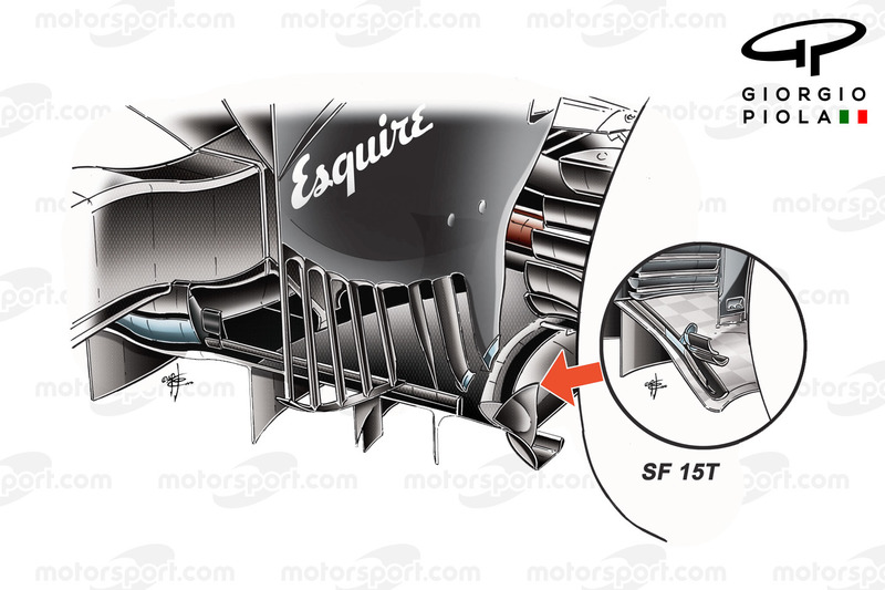 Williams FW38 diffuser, Hongarije