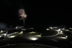 Fireworks at the Circuit of the Americas