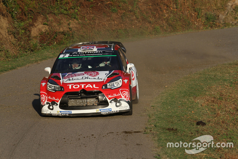 Kris Meeke, Paul Nagle, Citroen DS3 WRC, Abu Dhabi Total World Rally Team