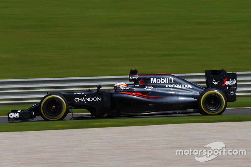 13: Fernando Alonso, McLaren MP4-31