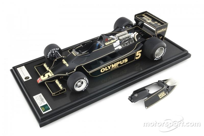 Miniature Amalgam 1:8 - Lotus 79 de Mario Andretti, GP des Pays-Bas 1978