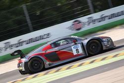 Mapelli-Albuquerque, Audi Sport Italia, Audi R8 LMS GT3 #8