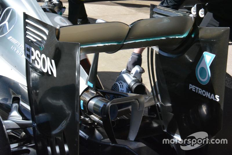 Heckflügel, Mercedes AMG F1 W07