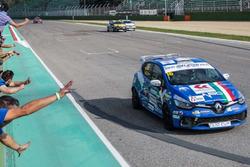 Il vincitore di Gara 1 Gustavo Sandrucci, Melatini Racing