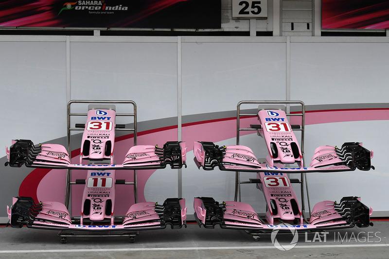 Переднє антикрило Force India VJM10