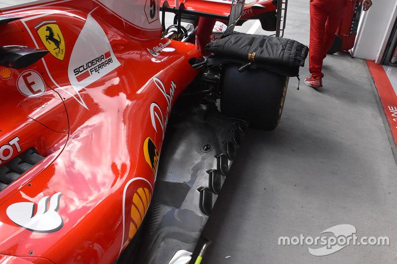 Fond plat de la Ferrari SF70H