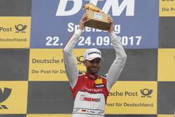 Podium: ganador,René Rast, Audi Sport Team Rosberg, Audi RS 5 DTM