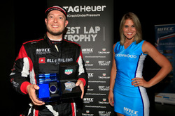 Rob Huff, All-Inkl Motorsport, Citroën C-Elysée WTCC, mit Gridgirl