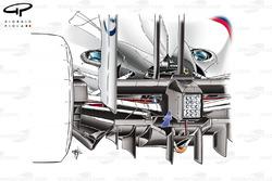 BMW Sauber F1.09 2009 double diffuser detail