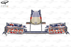 STR4 (Red Bull RB5) 2009 Silverstone nose