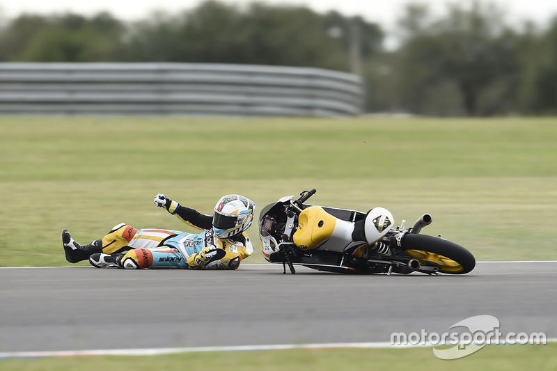 Sturz: Gabriel Rodrigo, RBA Racing Team