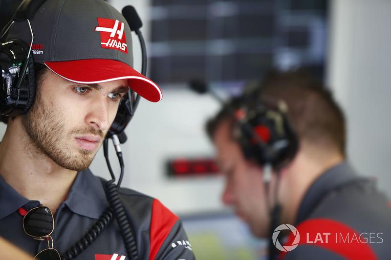 Антоніо Джовінацці, пілот по розвитку Haas F1 Team