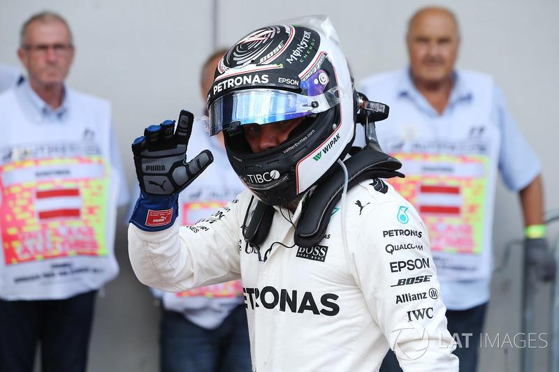 Polesitter Valtteri Bottas, Mercedes AMG F1