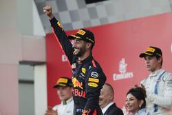 Даниэль Риккардо, Red Bull Racing, Валттери Боттас, Mercedes AMG F1, Лэнс Стролл, Williams