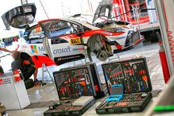 The of Jari-Matti Latvala, Miikka Anttila, Toyota Yaris WRC, Toyota Racing
