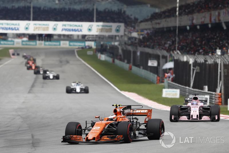 Malasia y Abu Dhabi, donde más pilotos llegaron al final