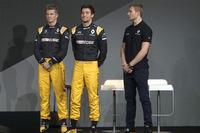 Renault Sport F1 Team sürücüleri; Nico Hulkenberg, Jolyon Palmer, üçüncü pilot Sergey Sirotkin