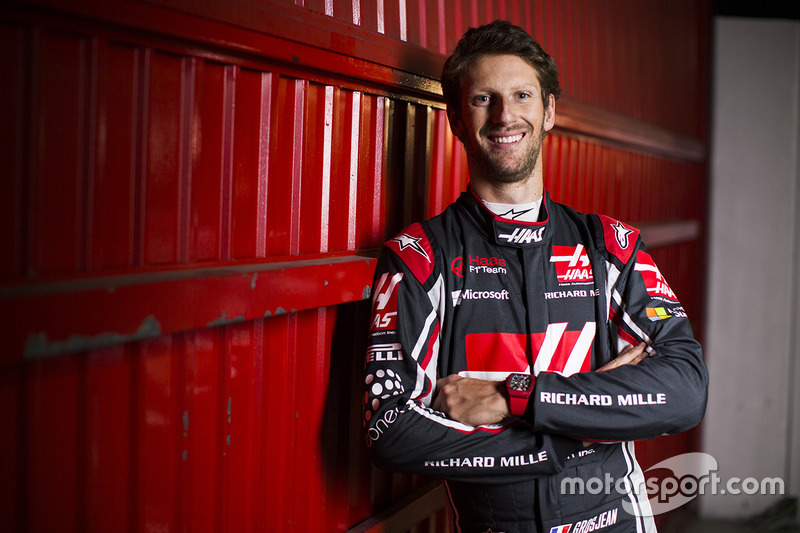 Ромен Грожан, Haas F1 (2017)